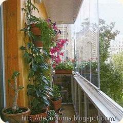 декор лоджии или балкона