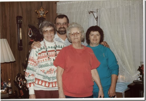 Ann, Monte, Bertha & Darlene Thurman