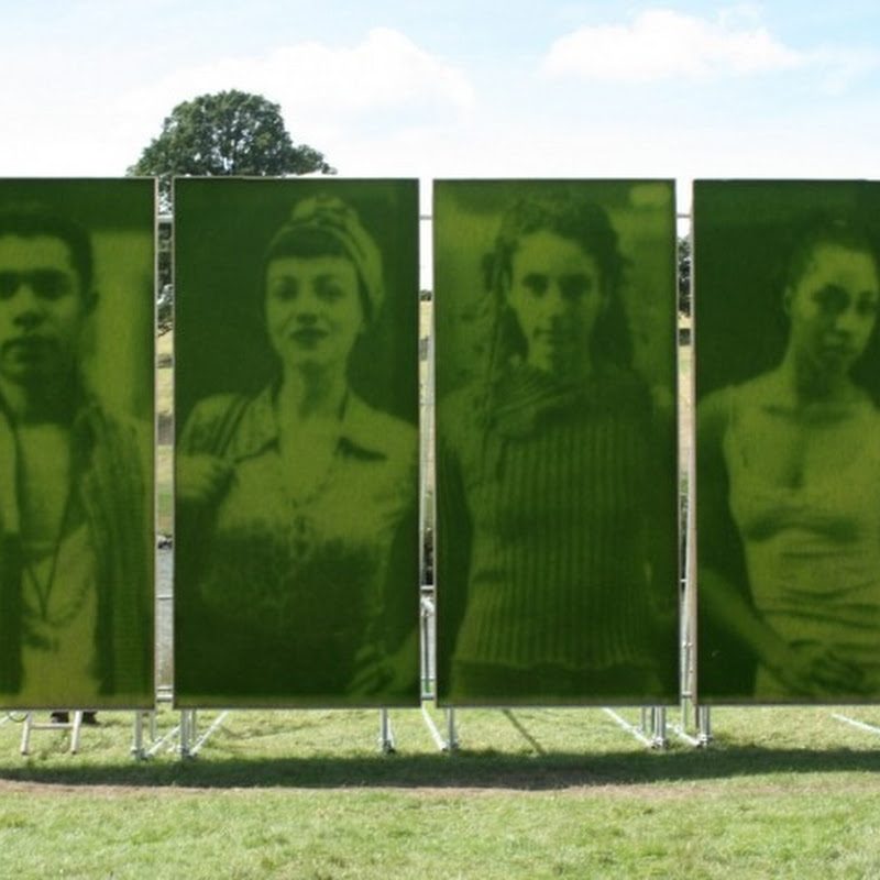 Grass Portraits by Ackroyd & Harvey
