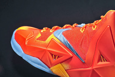 nike lebron 11 gr atomic orange 4 08 forging iron New Look at Forging Iron LeBron XI and Its Sick Packaging!
