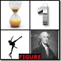 FIGURE- 4 Pics 1 Word Answers 3 Letters