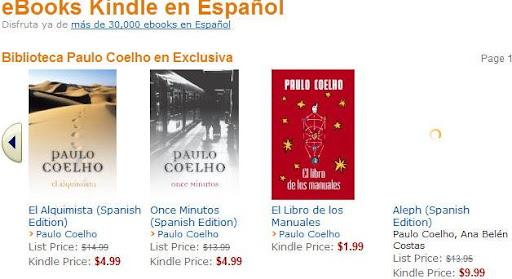 Libros para el kindle en español