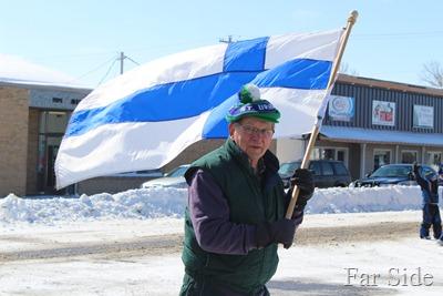 The Finnish Flag Bearer
