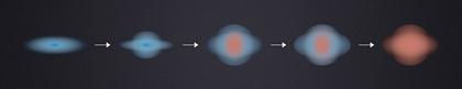 as galáxias morrem de dentro para fora
