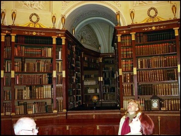 Bibliothèque de Klosterneuburg, Autriche -2