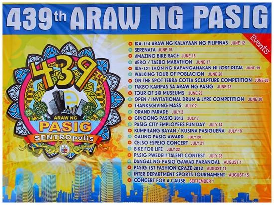 439th Araw ng Pasig 2012