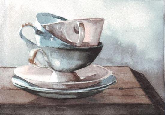 Helga McLeod painting