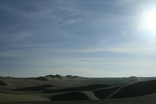 As a new friend of ours Lee put it, Huacachina is like that mythical location on the front of a packet of dates.