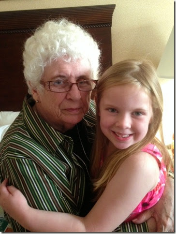 Kaitlyn and Grandma Hotel