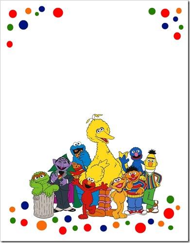 Sesame Street Templates Free Kleo Bergdorfbib Co
