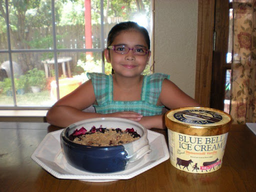 Irma and her lovely daughter Gianna made the perfect summer pairing...with Ice Cream!!!