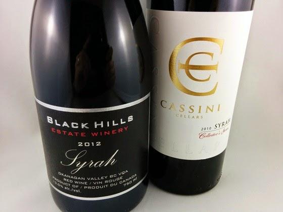 Black Hills Syrah 2012 & Cassini Syrah 2010