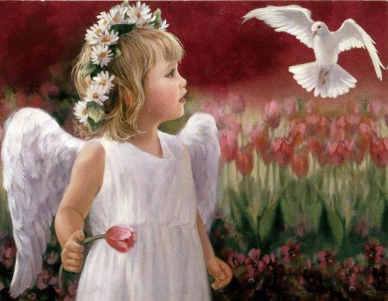 Ангелы декупажа Лори