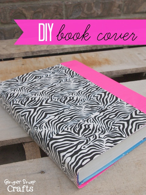 Diy Book Cover Ideas : Ginger snap crafts awesome back to school ideas