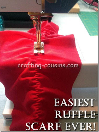 Make a Ruffle Scarf copy