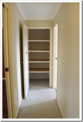 Linen Cupboard Before 2