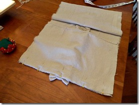 drop cloth ruffled pillow how to 14