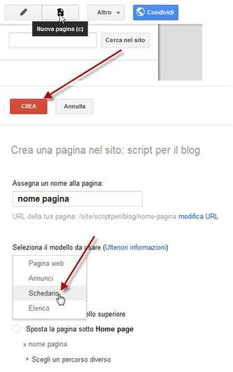 google-sites-pagina