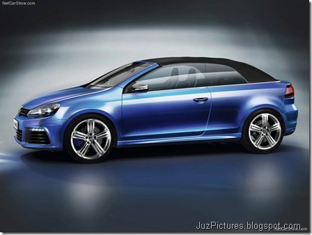 VW Golf R Cabriolet Concept2