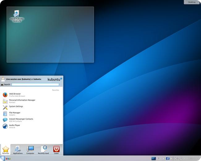 kubuntu14.04