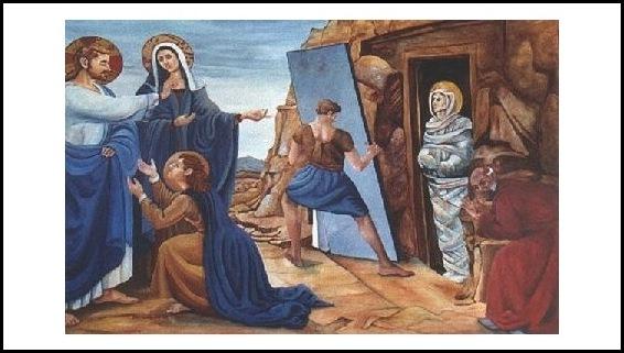Lázaro resucita