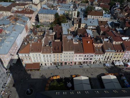 Obiective turistice Lvov: Piata Centrala