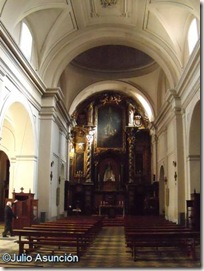 San Pedro el Viejo - interior