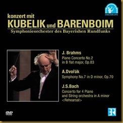 Brahms concierto piano 2 Kubelik Barenboim