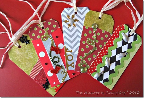 Small Christmas Tags