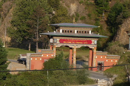 253. Welcome to Thimphu.JPG