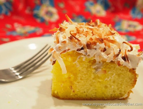 #Cake #Recipe #LemonMerigue