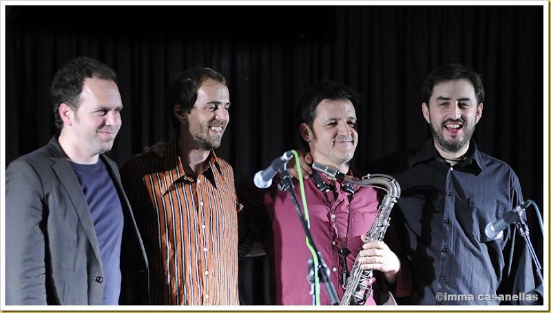 Roger Mas, Marc Cuevas, Víctor De Diego i Gonzalo Del Val, Vilafranca 2013