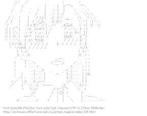 [AA]Misaka Mikoto (A Certain Magical Index)