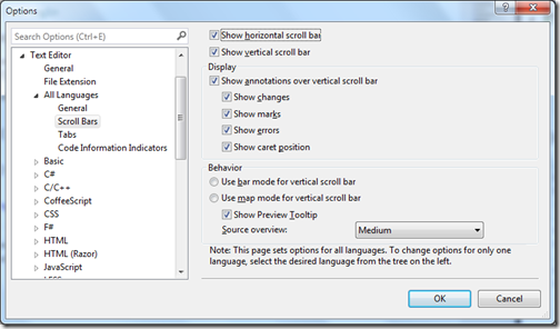 ScrollBarOptionsSettingsVisualStudio2013