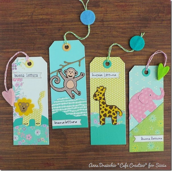 cafe creativo - Anna Draicchio - sizzix big shot - bookmark (1)