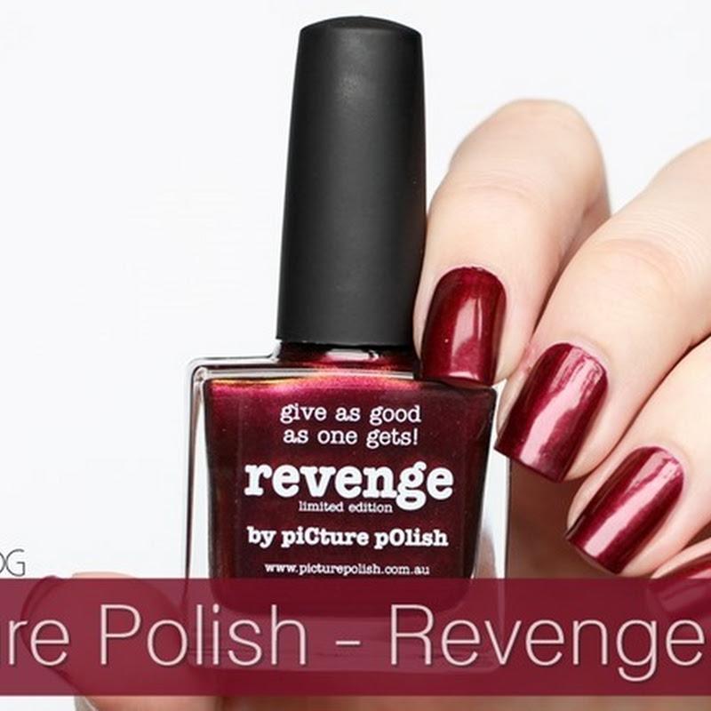[Swatch] Picture Polish–Revenge (Vampy Chameleons LE)