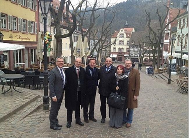 Αδελφοποίηση με την περιοχή RHFIN – NECKAR – KREIS της Γερμανίας