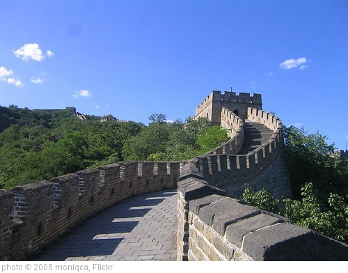 'The Great Wall' photo (c) 2005, moniqca - license: http://creativecommons.org/licenses/by-nd/2.0/