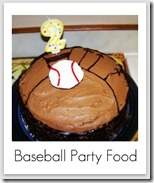 baseball party food