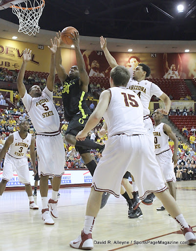 (NCAA Men's Basketball-Arizona State 73 vs Oregon ...