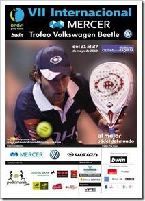 Ya ha comenzado el VII Internacional Mercer Trofeo Volkswagen Beetle. Las instalaciones del club Ciudad de la Raqueta