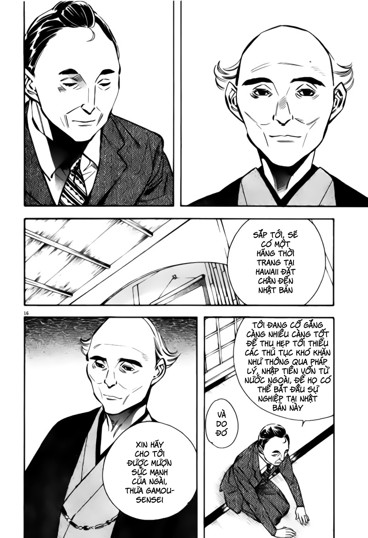 Shin Kurosagi - Con Diệc Đen 2 chap 196 - Trang 16