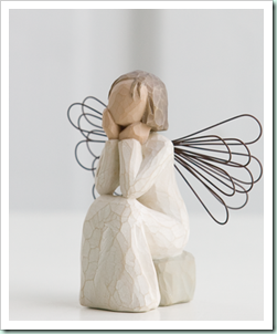 angel of caring - always there, listening with a willing ear and an open heart