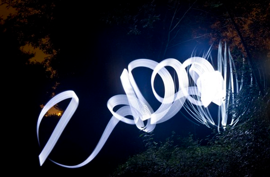 light writing