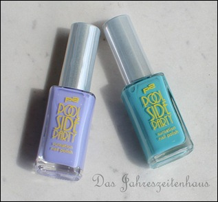 0 P2 Limited Edition LE Pool Side Party Nagellack Turquoise Sky Violet Summerdream