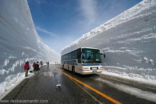 parede de neve 20 metros japao desbaratinando  (1)