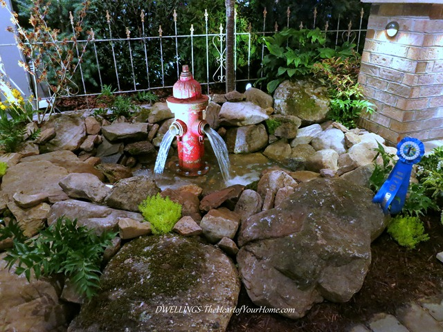 Southern Spring Show water hydrant fountain