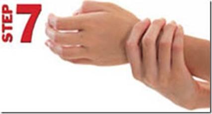 Langkah 7/7 langkah hygiene mencuci tangan