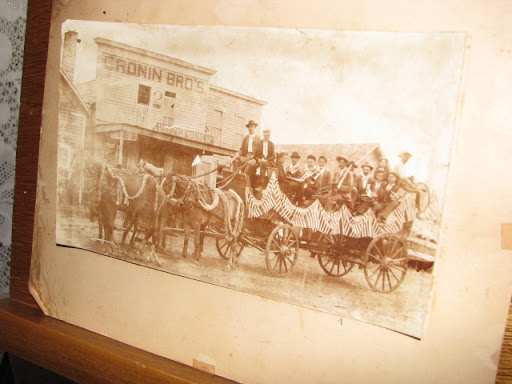 The Bauch House Museum on Pine Street in downtown Cabool has several old photographs and artifacts; this one is of Main Street, Cabool, near the turn of the century.