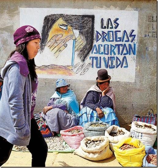 Arte urbano en El Alto